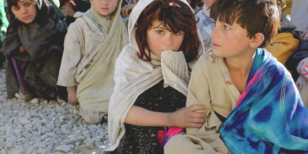 niños detenidos en Afganistán