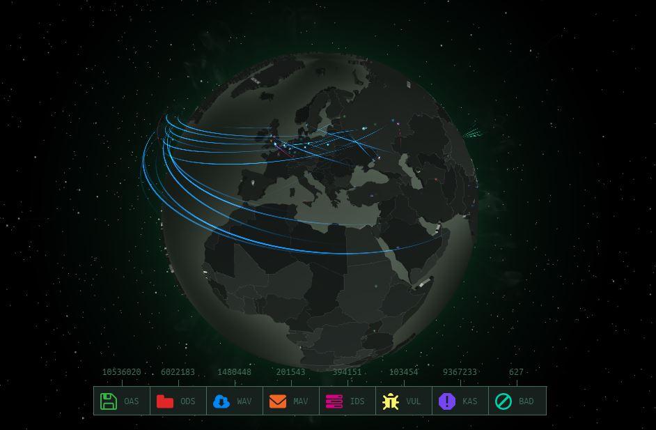 Ataques cibernéticos entre países
