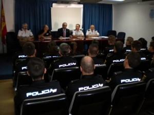 2015 aucal cursos a policia nacional sobre ley seguridad privada