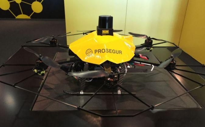 Prosegur desarrolla un dron de vigilancia
