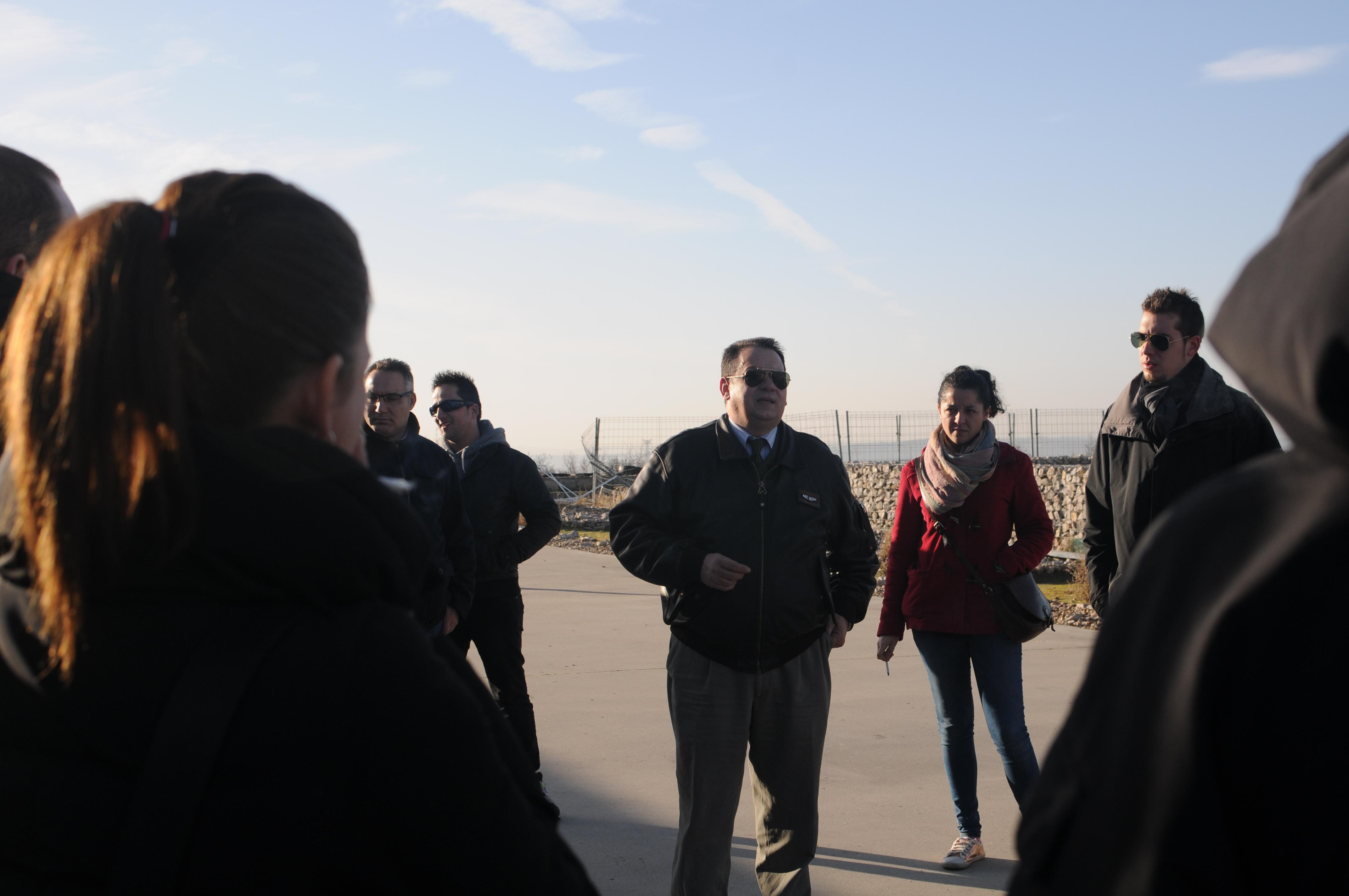 Alumnos/as de Director de Seguridad realizaron una visita práctica