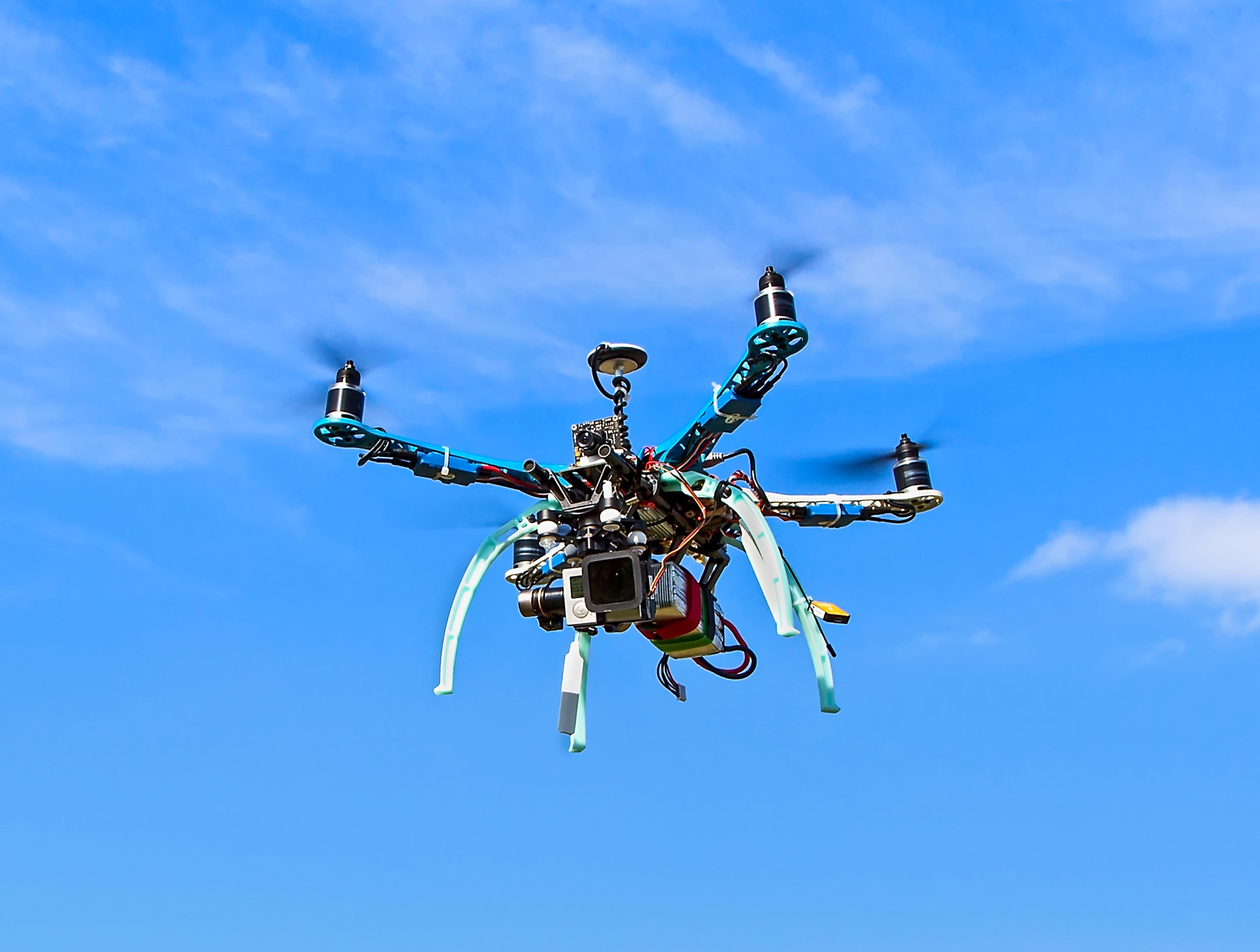 Drones aplicados a la seguridad