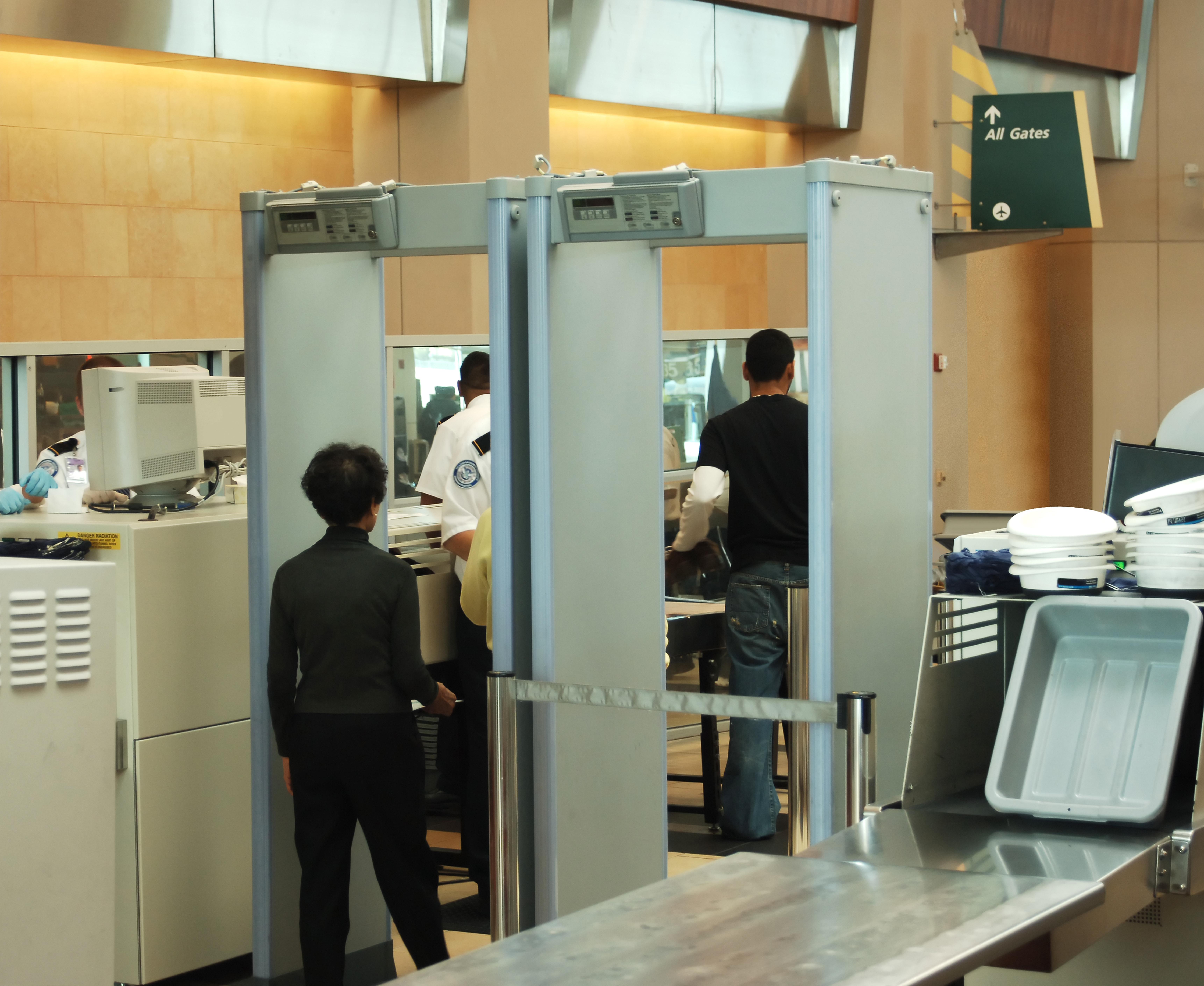 Seguridad en el aeropuerto