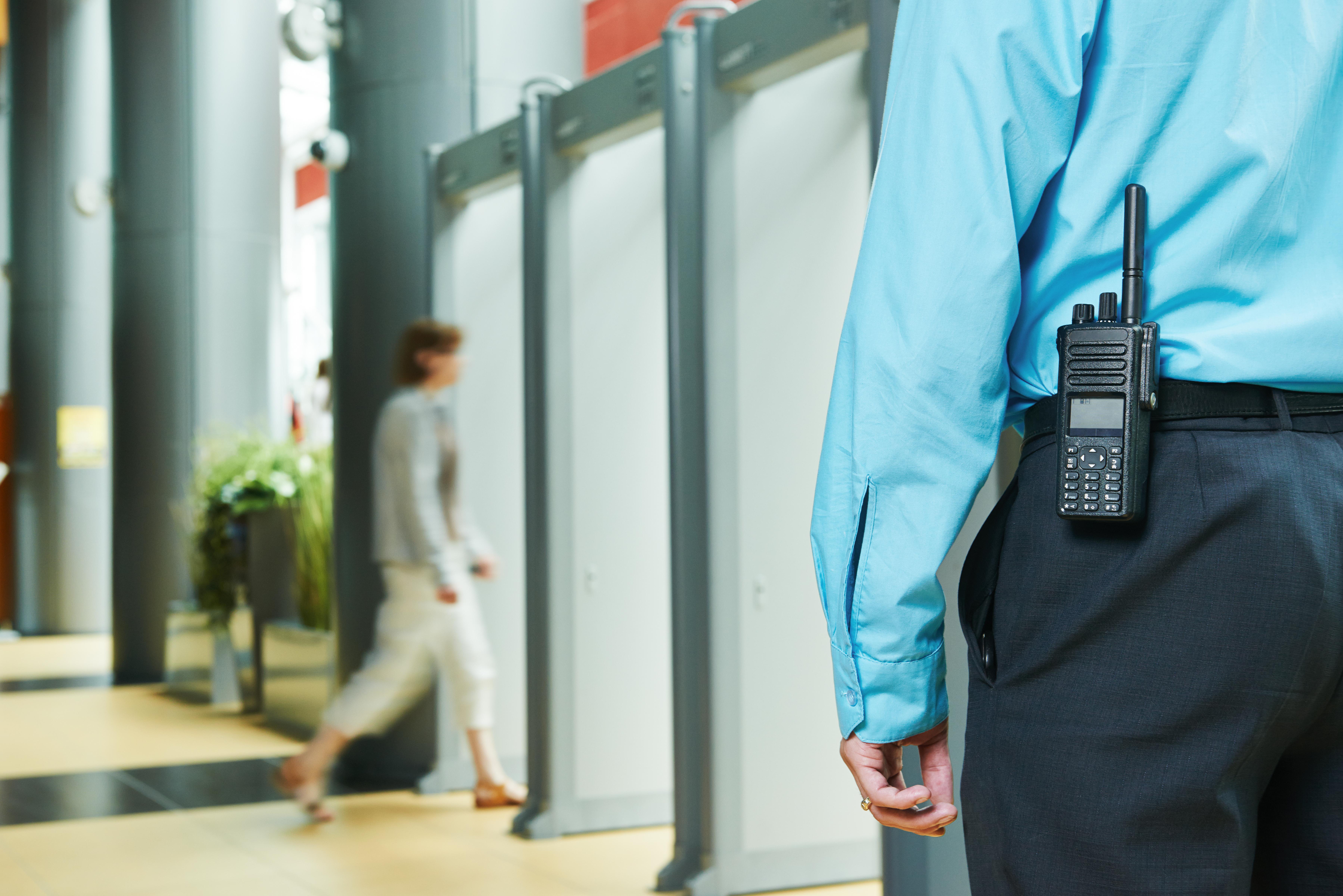 Seguridad en el museo