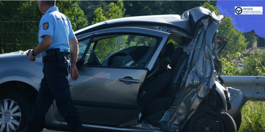 Cifras de accidentes de tráfico en España