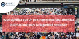 Conflictos a nivel internacional: Venezuela, EEUU, China y otros