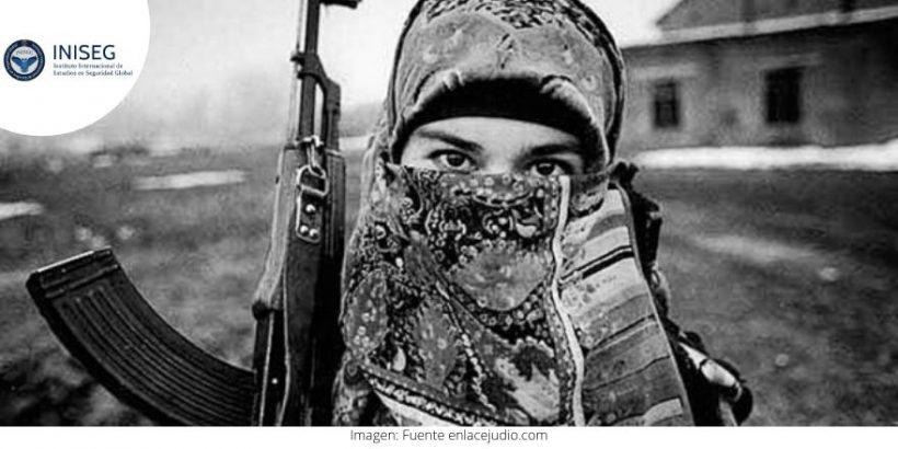 mujer en el terrorismo