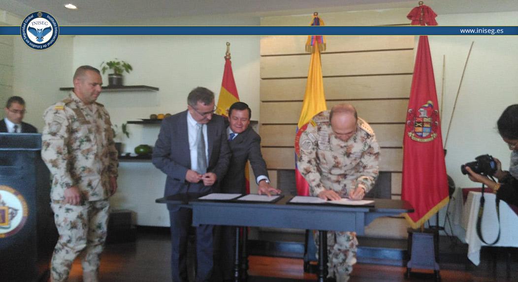Convenio académico Iniseg y Colombia