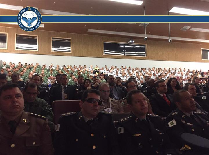 Iniseg en Congreso de Ciencias Policiales en Brasil