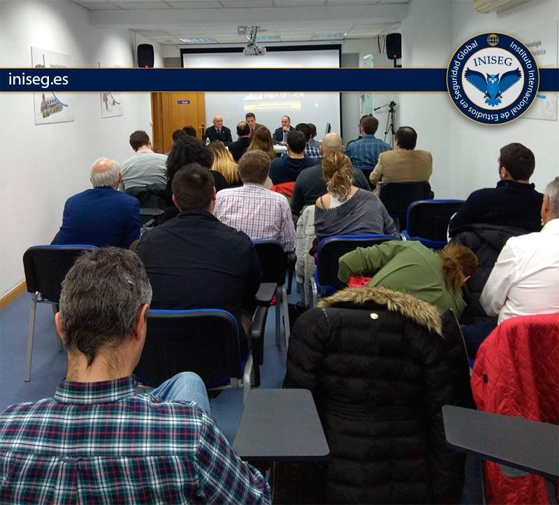 Inauguración curso experto en terrorismo