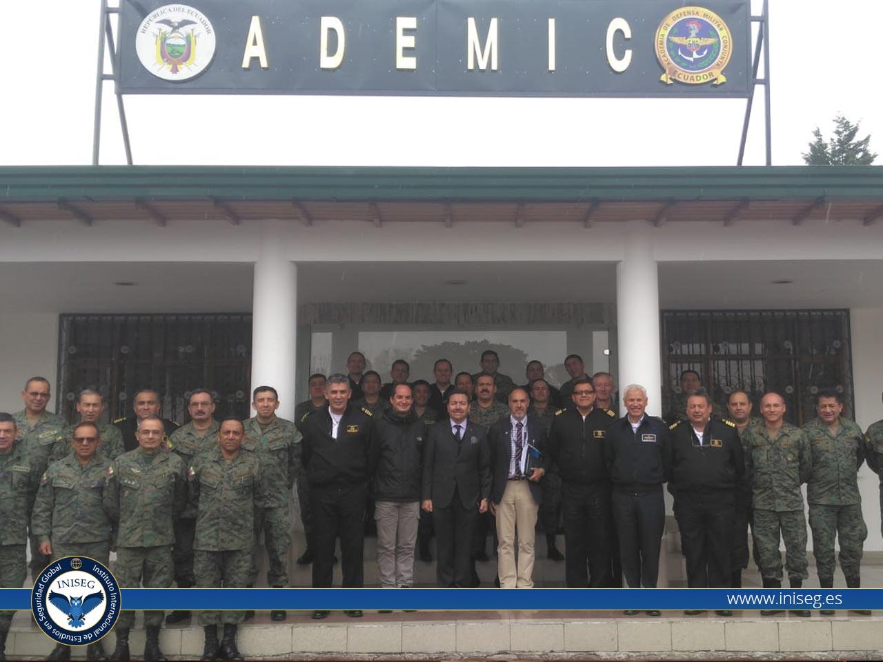 Foro Internacional de Seguridad de Ecuador